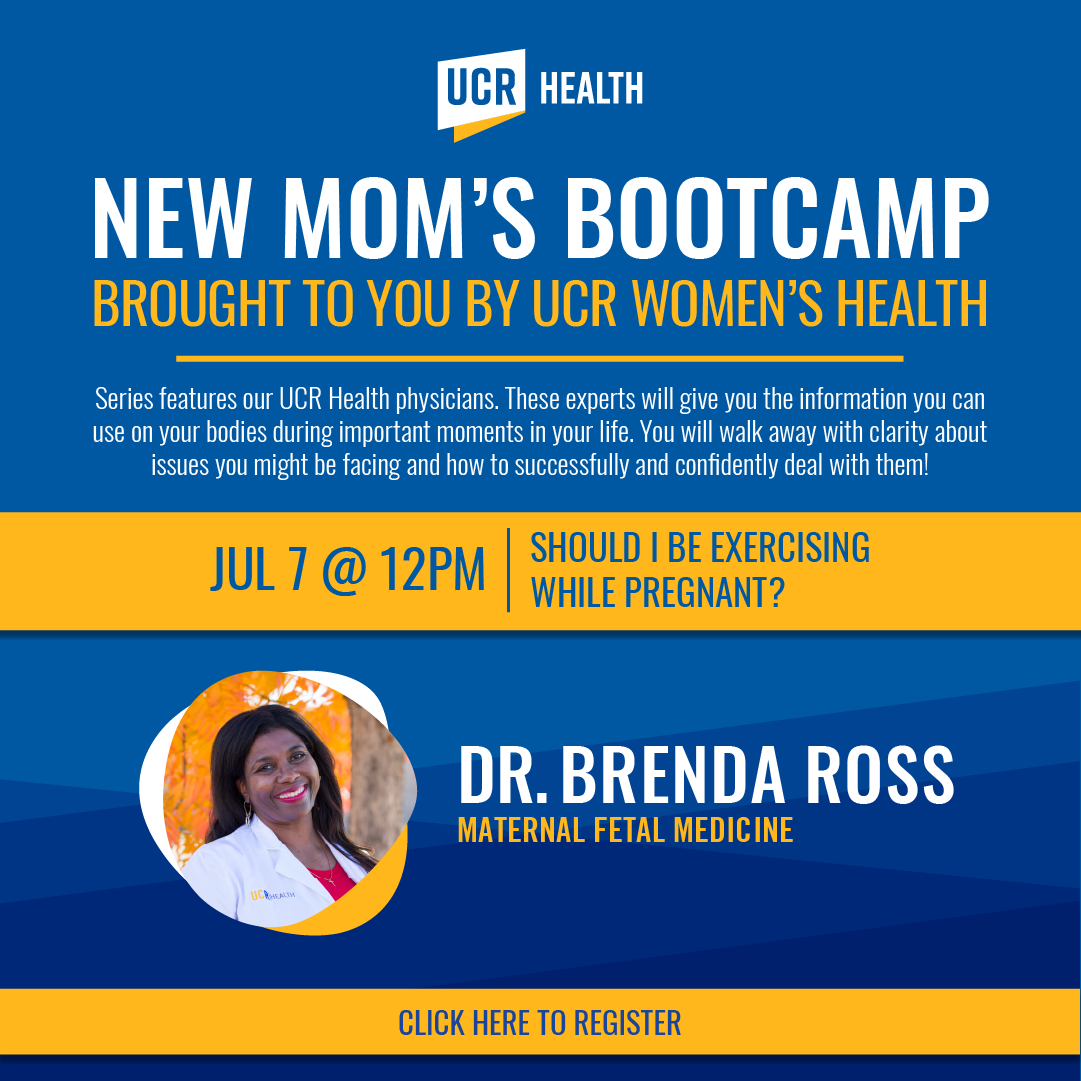 new mom's bootcamp flyer